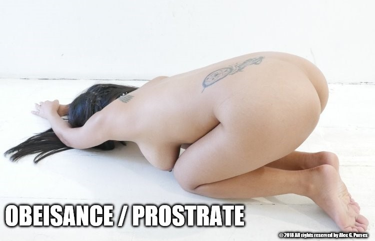 Obeisance Prostrate